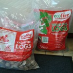 Ecofire wood briquettes-  £6.75 bag or 5 for £30